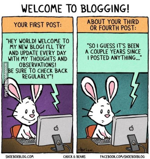 Welcome To Blogging